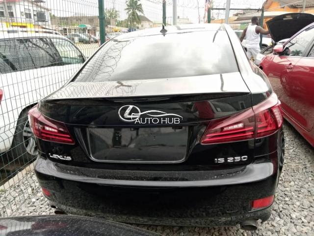 2011 Lexus IS250 Black