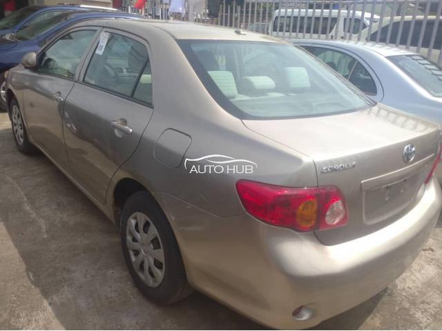 2010 Toyota Corolla Gold