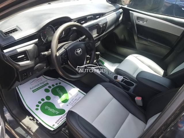 2015 Toyota Corolla Black