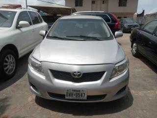 2009 Toyota Corolla Silver