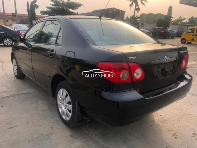 2008 Toyota Corolla Black