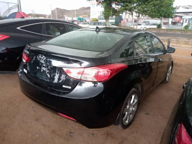 2013 Hyundai Elantra Black