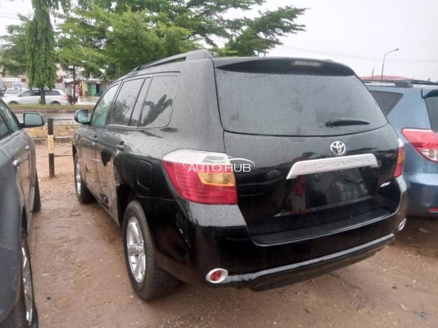 2010 Toyota Highlander Black