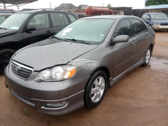 2006 Toyota Corolla Grey