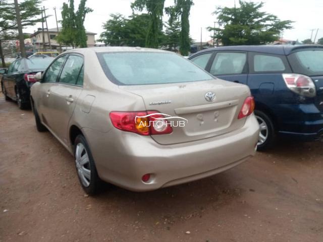 2009 Toyota Corolla Gold