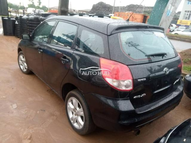 2004 Toyota Matrix Black