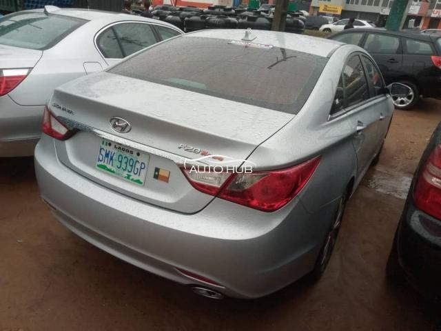 2014 Hyundai Sonata Silver