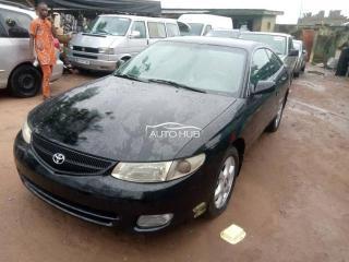 2001 Toyota Solara Black