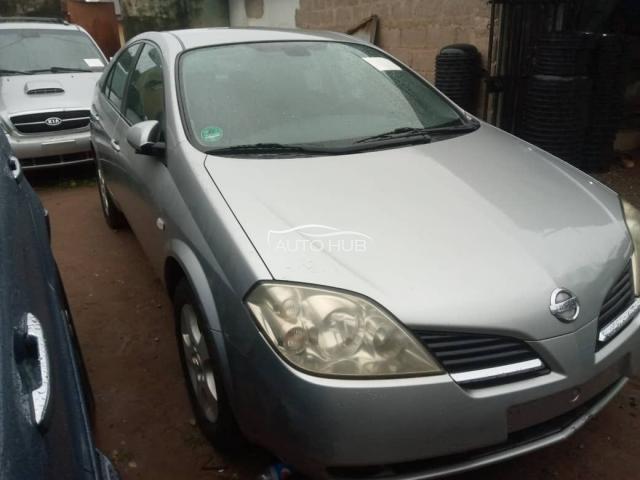 2003 Nissan Primera Silver
