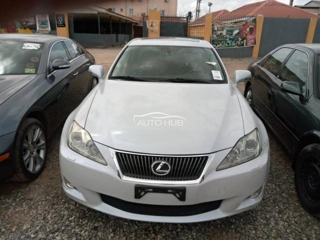 2010 Lexus IS-250 White