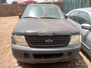 2000 Ford Explorer Black