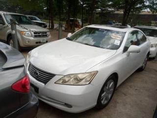 2007 Lexus ES-350 White
