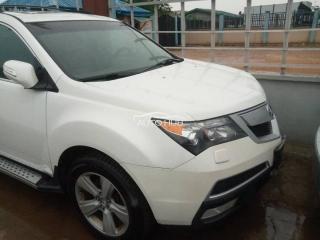 2010 Acura MDX White