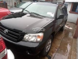 2005 Toyota Highlander Black