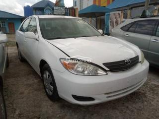 2003 Toyota Camry White