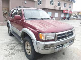 1998 Toyota 4Runner Red