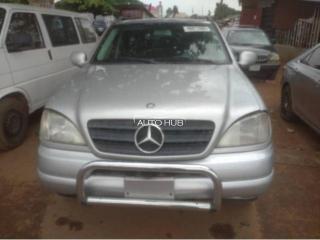 2001 Mercedes Benz ML-320 Silver