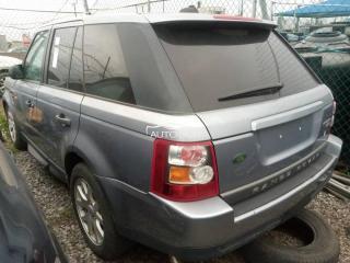 2008 Range-Rover Sport Silver