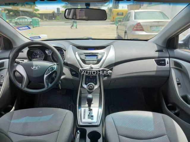 2012 Hyundai Elantra Silver