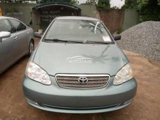 2005 Toyota Corolla Green