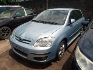 2004 Toyota Corolla Verso Blue