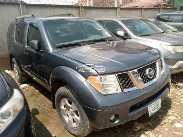 2007 Nissan pathfinder Blue