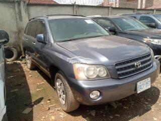 2003 Toyota Highlander Grey