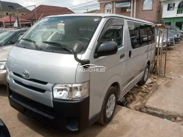 2014 Toyota Hiace Silver