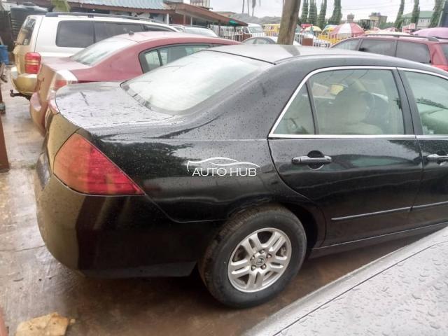 2008 Honda Accord Black