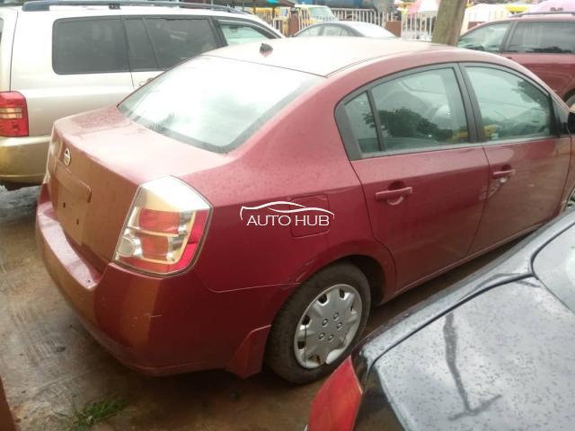 2008 Nissan Sentra Red