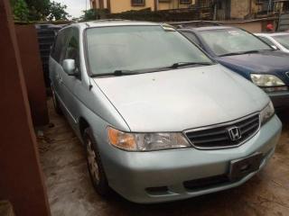 2003 Honda Odyssey Blue