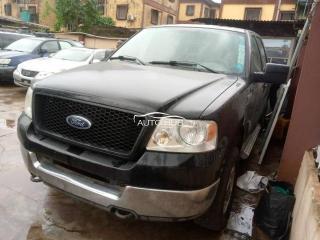2005 Ford F150 Black