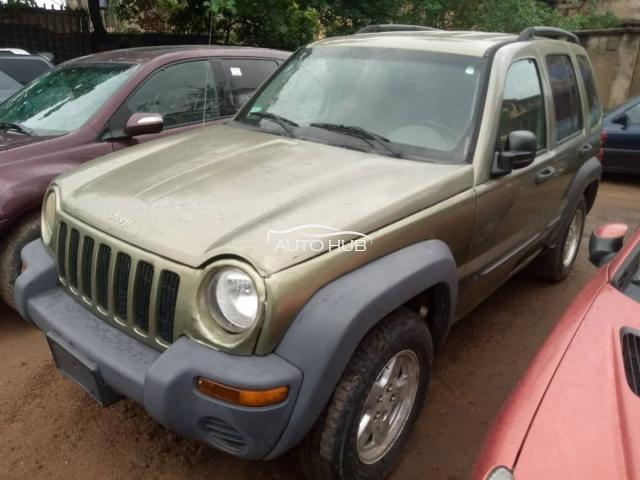 2005 Jeep Liberty Green