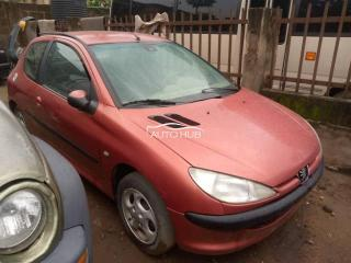 2002 Peugeot 206 Red