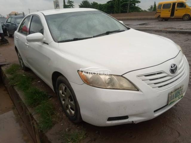 2008 Toyota Camry White
