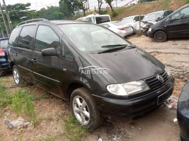 2000 Volkswagen Sharan Black