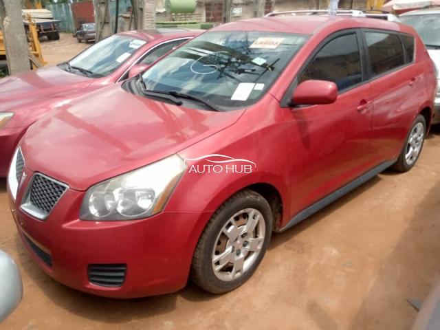 2009 Vibe Pontiac Red