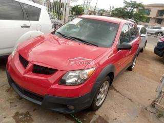 2004 Vibe Pontiac Red