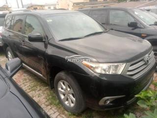 2013 Toyota Highlander Black