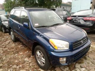 2002 Toyota Rav4 Blue