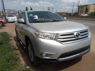 2012 Toyota Highlander Silver