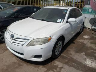 2011 Toyota Camry White