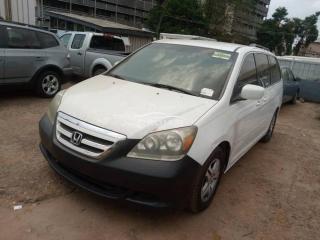 2007 Honda Odyssey White
