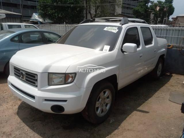 2006 Honda Ridgeline White