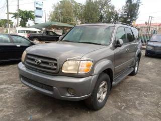 2003 Toyota Sequoia Grey