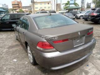 2003 BMW 740 Grey