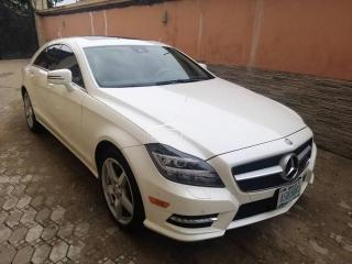 2014 Mercedes CLS 550 White