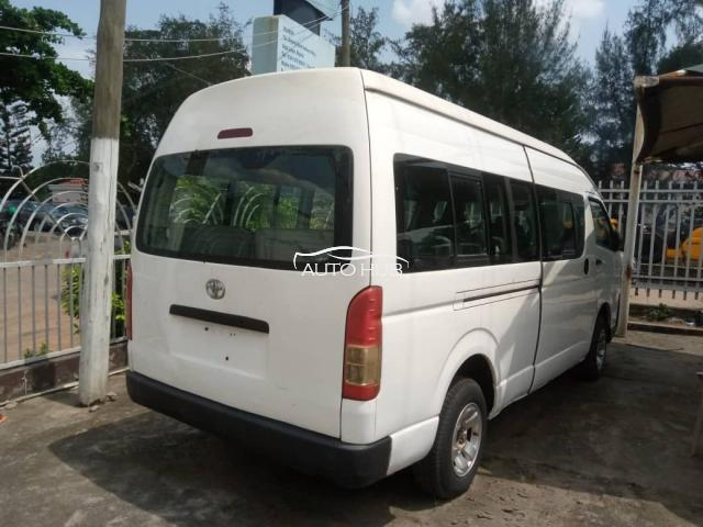 2012 Toyota Hiace White