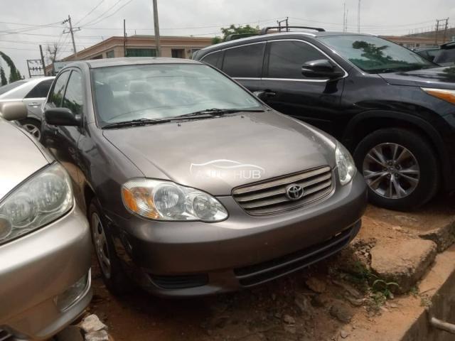 2003 Toyota Corolla Grey