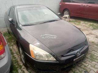 2005 Honda Accord Black